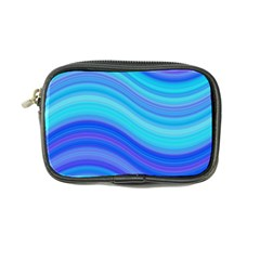 Blue Background Water Design Wave Coin Purse