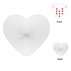 Background Line Motion Curve Playing Cards (heart)