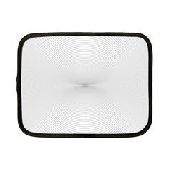 Background Line Motion Curve Netbook Case (small)