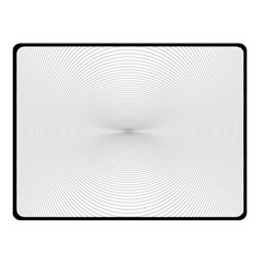 Background Line Motion Curve Double Sided Fleece Blanket (small)