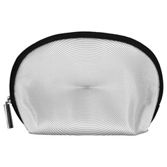 Background Line Motion Curve Accessory Pouches (large)
