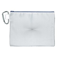 Background Line Motion Curve Canvas Cosmetic Bag (xxl)