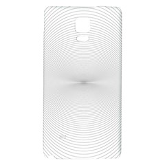 Background Line Motion Curve Galaxy Note 4 Back Case