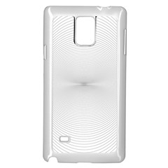 Background Line Motion Curve Samsung Galaxy Note 4 Case (white)
