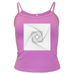 Rotation Rotated Spiral Swirl Dark Spaghetti Tank