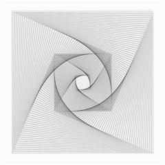 Rotation Rotated Spiral Swirl Medium Glasses Cloth