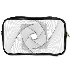 Rotation Rotated Spiral Swirl Toiletries Bags