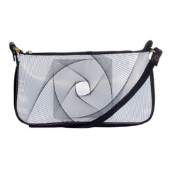 Rotation Rotated Spiral Swirl Shoulder Clutch Bags