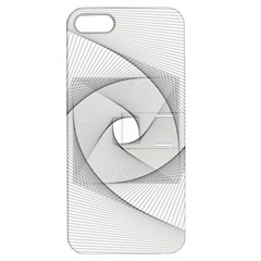 Rotation Rotated Spiral Swirl Apple Iphone 5 Hardshell Case With Stand