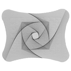 Rotation Rotated Spiral Swirl Jigsaw Puzzle Photo Stand (bow)