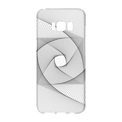 Rotation Rotated Spiral Swirl Samsung Galaxy S8 Hardshell Case