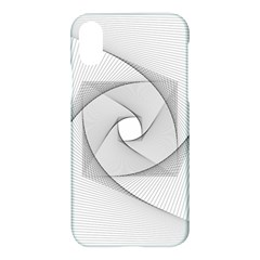 Rotation Rotated Spiral Swirl Apple Iphone X Hardshell Case