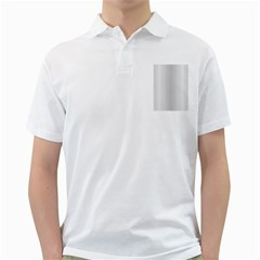 Monochrome Curve Line Pattern Wave Golf Shirts
