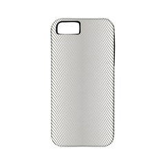 Monochrome Curve Line Pattern Wave Apple Iphone 5 Classic Hardshell Case (pc+silicone)