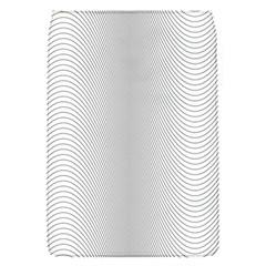 Monochrome Curve Line Pattern Wave Flap Covers (s)
