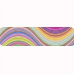 Wave Background Happy Design Large Bar Mats