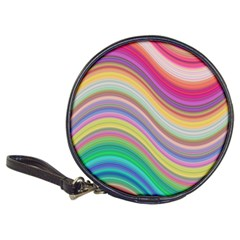 Wave Background Happy Design Classic 20 Cd Wallets