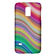 Wave Background Happy Design Galaxy S5 Mini