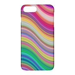 Wave Background Happy Design Apple Iphone 7 Plus Hardshell Case