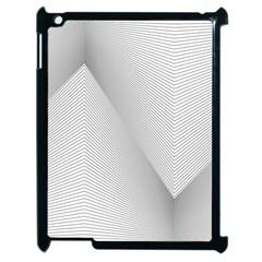 Background Pattern Stripe Apple Ipad 2 Case (black)
