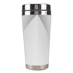 Background Pattern Stripe Stainless Steel Travel Tumblers