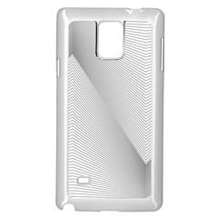 Background Pattern Stripe Samsung Galaxy Note 4 Case (white)