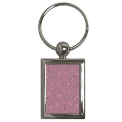 Triangle Background Abstract Key Chains (rectangle)
