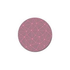 Triangle Background Abstract Golf Ball Marker (4 Pack)