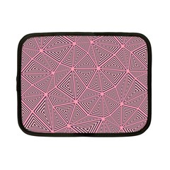 Triangle Background Abstract Netbook Case (small)