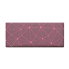 Triangle Background Abstract Cosmetic Storage Cases