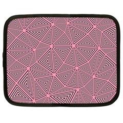 Triangle Background Abstract Netbook Case (xl)