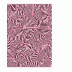 Triangle Background Abstract Large Garden Flag (two Sides)