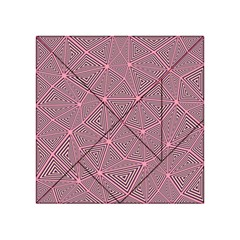 Triangle Background Abstract Acrylic Tangram Puzzle (4  X 4 )