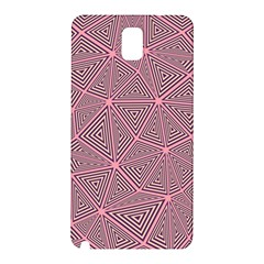 Triangle Background Abstract Samsung Galaxy Note 3 N9005 Hardshell Back Case