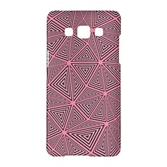 Triangle Background Abstract Samsung Galaxy A5 Hardshell Case