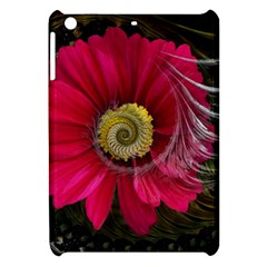 Fantasy Flower Fractal Blossom Apple Ipad Mini Hardshell Case