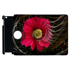 Fantasy Flower Fractal Blossom Apple Ipad 2 Flip 360 Case
