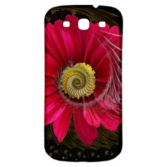 Fantasy Flower Fractal Blossom Samsung Galaxy S3 S Iii Classic Hardshell Back Case