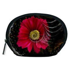 Fantasy Flower Fractal Blossom Accessory Pouches (medium)