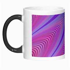 Purple Star Sun Sunshine Fractal Morph Mugs