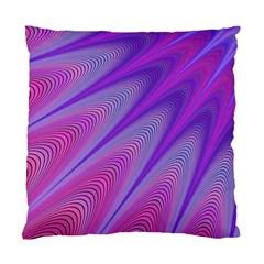 Purple Star Sun Sunshine Fractal Standard Cushion Case (two Sides)