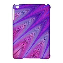 Purple Star Sun Sunshine Fractal Apple Ipad Mini Hardshell Case (compatible With Smart Cover)