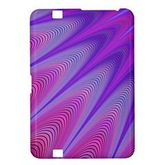 Purple Star Sun Sunshine Fractal Kindle Fire Hd 8 9