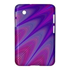 Purple Star Sun Sunshine Fractal Samsung Galaxy Tab 2 (7 ) P3100 Hardshell Case