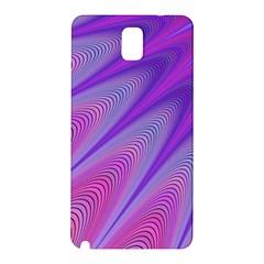 Purple Star Sun Sunshine Fractal Samsung Galaxy Note 3 N9005 Hardshell Back Case