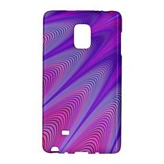 Purple Star Sun Sunshine Fractal Galaxy Note Edge