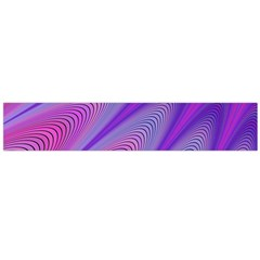 Purple Star Sun Sunshine Fractal Large Flano Scarf