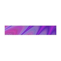 Purple Star Sun Sunshine Fractal Flano Scarf (mini)