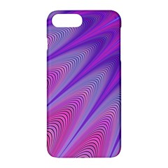 Purple Star Sun Sunshine Fractal Apple Iphone 7 Plus Hardshell Case