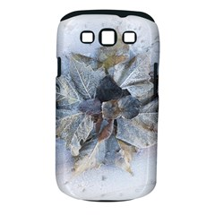 Winter Frost Ice Sheet Leaves Samsung Galaxy S Iii Classic Hardshell Case (pc+silicone)